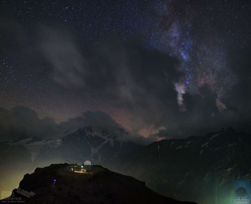 Observatory, Mountains, Universe