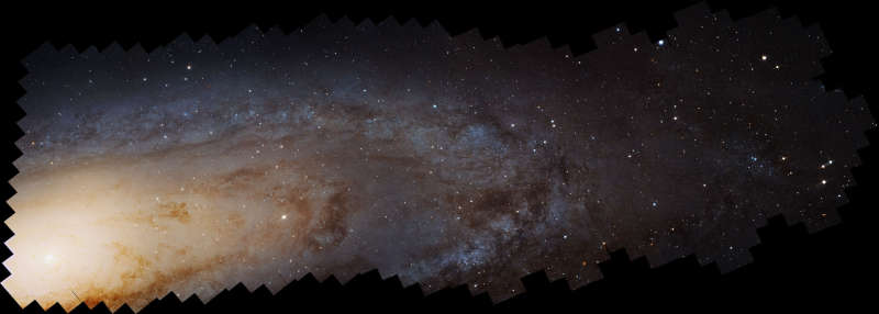 100 Million Stars in the Andromeda Galaxy