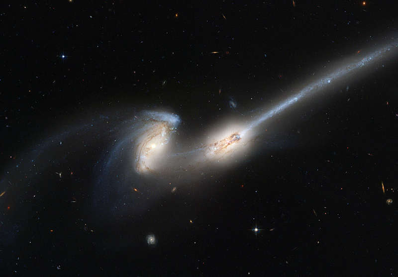 NGC 4676: When Mice Collide