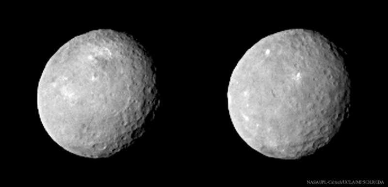 Dark Craters and Bright Spots Revealed on Asteroid Ceres