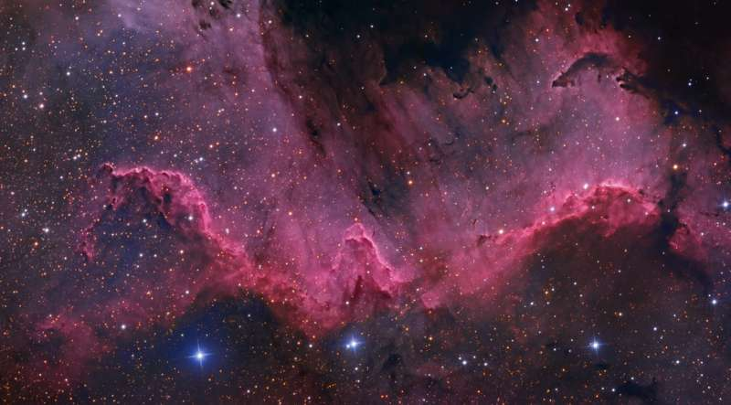Along the Cygnus Wall