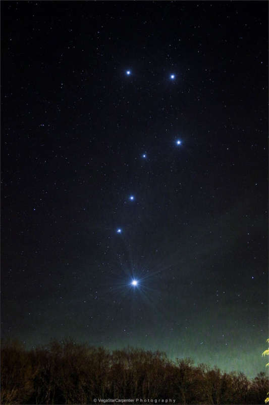 The Big Dipper Enhanced