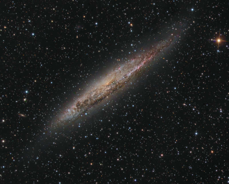 Nearby Spiral Galaxy NGC 4945