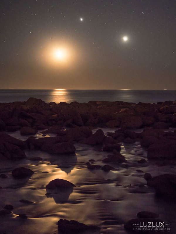 Triple Conjunction Over Galician National Park