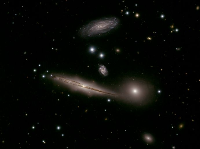 HCG 87: A Small Group of Galaxies