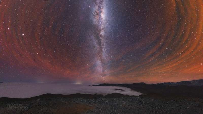 Milky Way with Airglow Australis