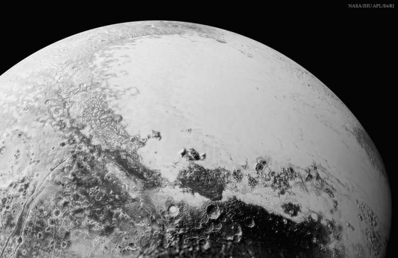 Pluto from above Cthulhu Regio