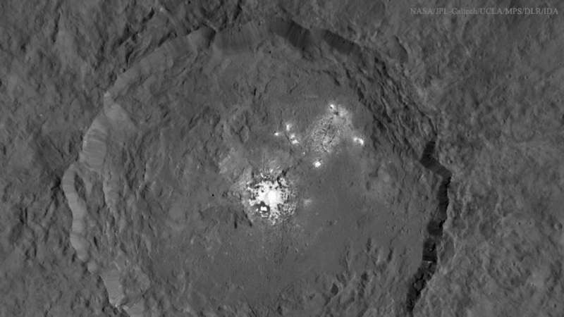 Bright Spots Resolved in Occator Crater on Ceres