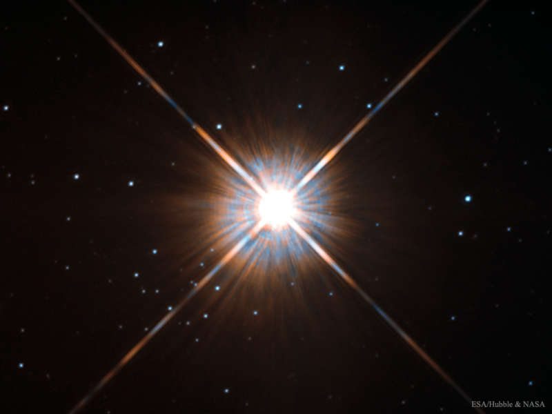 Proxima Centauri: The Closest Star