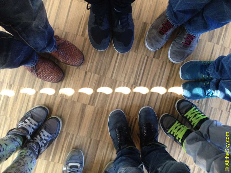 Solar Eclipse Shoes in the Classroom