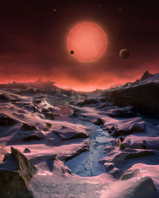 Three Worlds for TRAPPIST 1