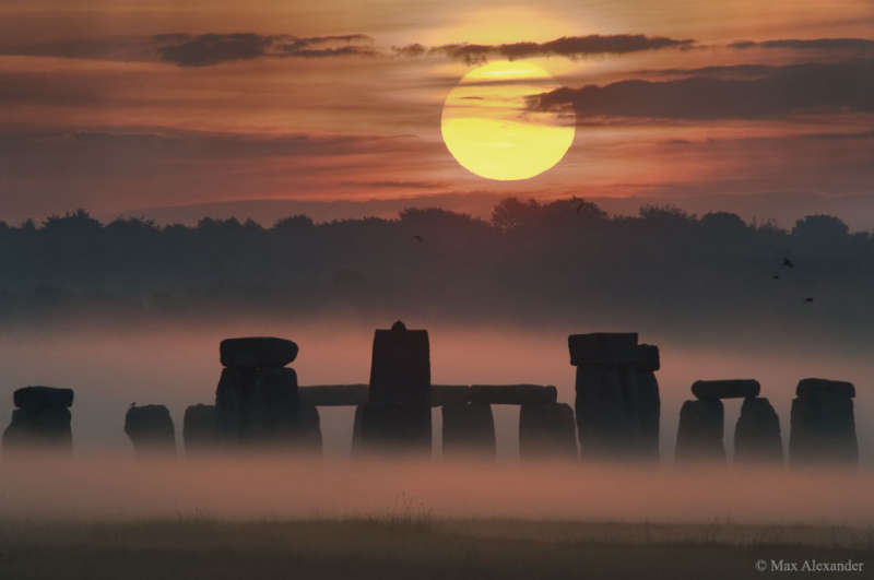 Sunrise Solstice over Stonehenge