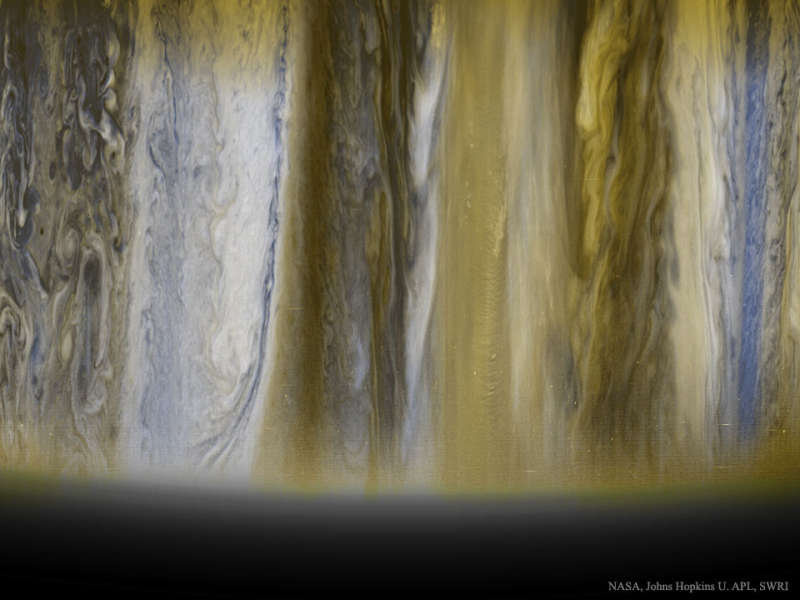 Jupiters Clouds from New Horizons