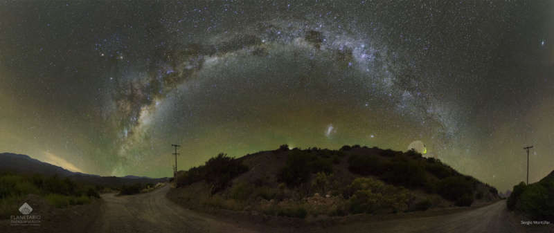 Puzzling a Sky over Argentina