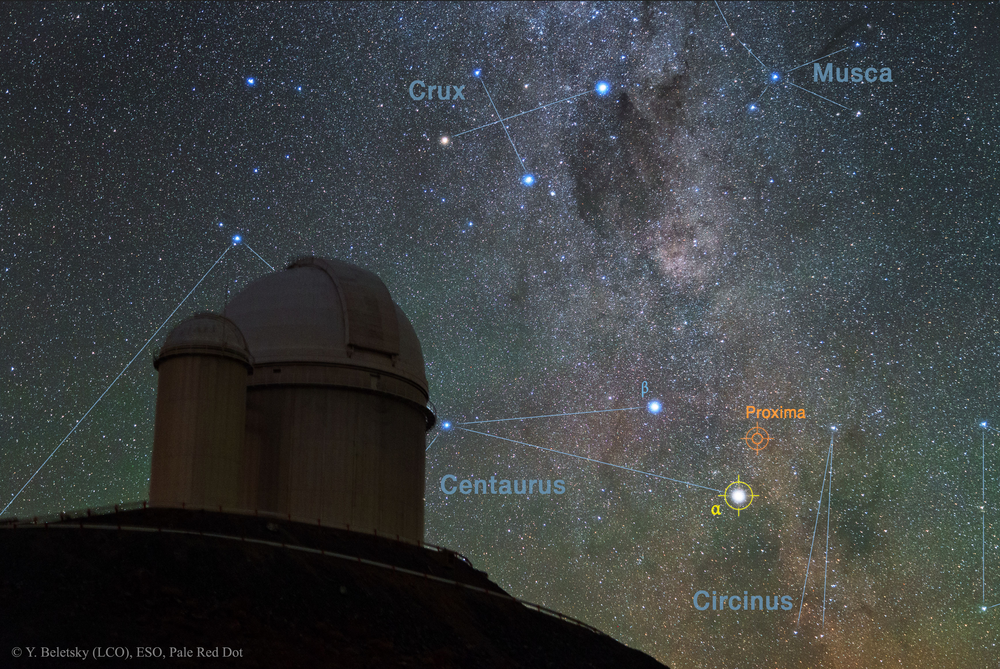 Closest Star has Potentially Habitable Planet