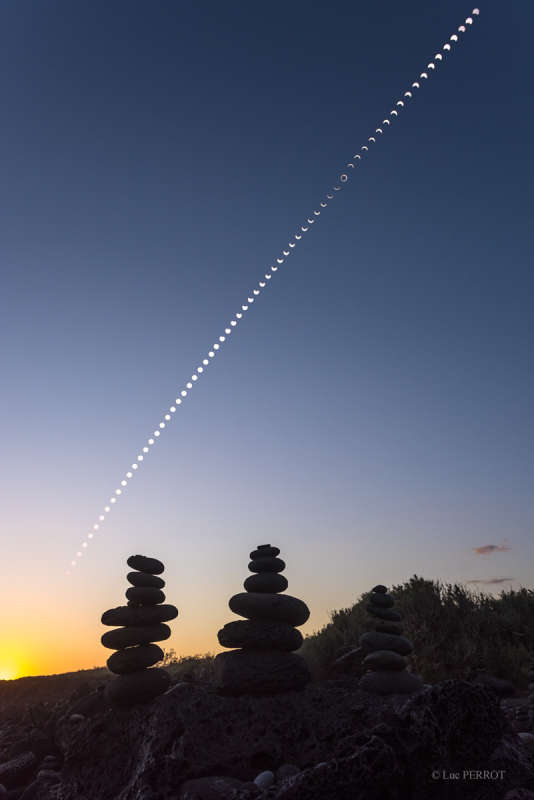 Eclipse to Sunset