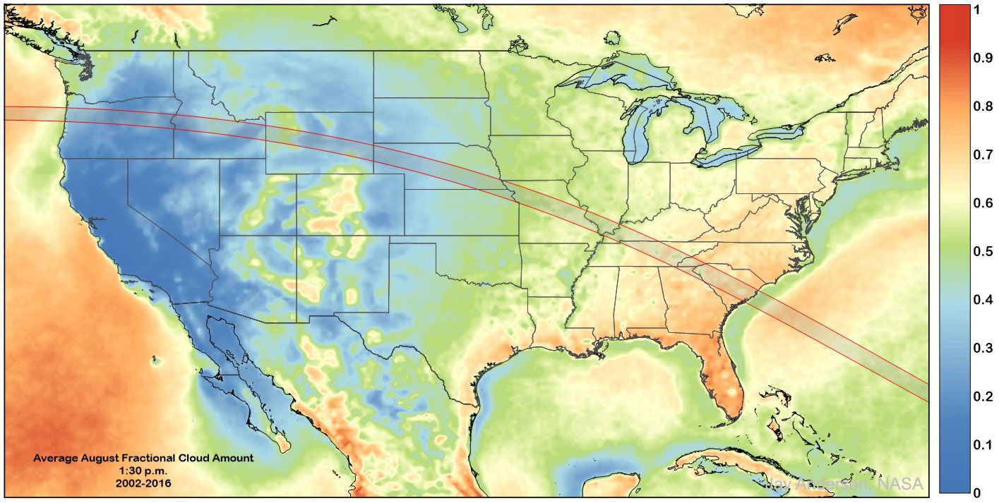 Where to See the American Eclipse