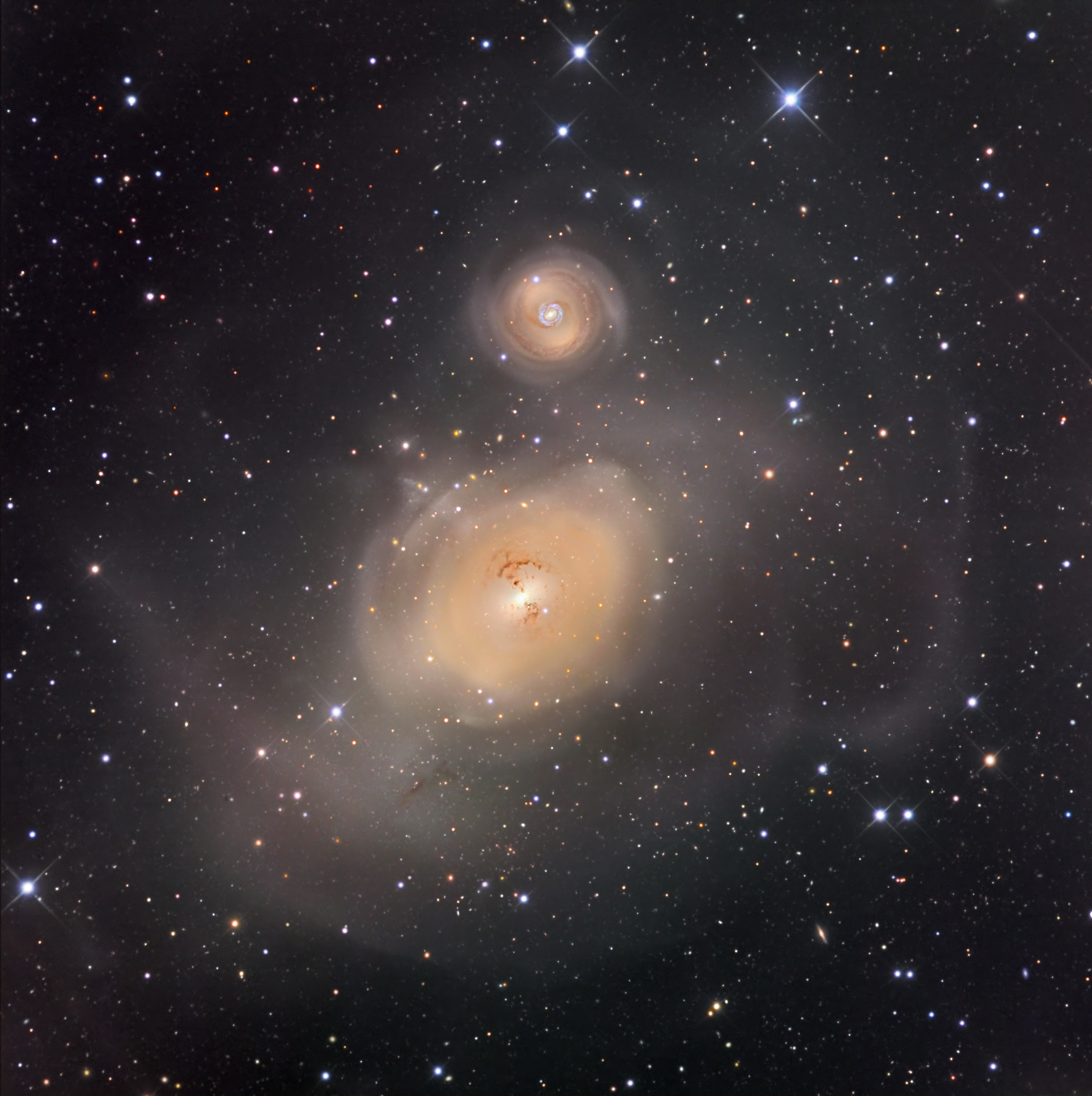 NGC 1316: After Galaxies Collide