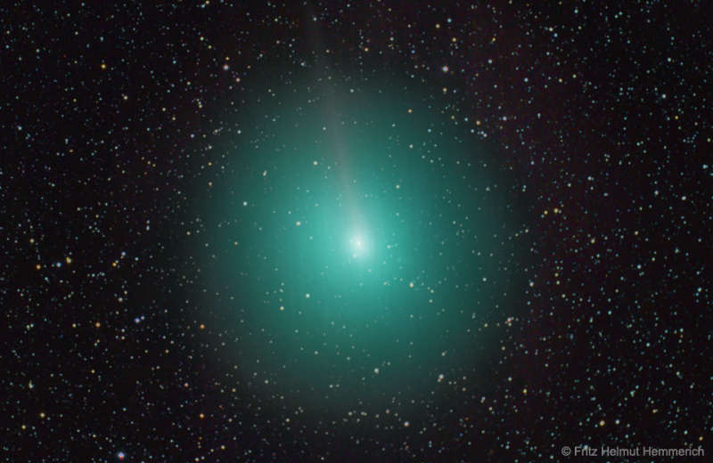 Comet 45P Passes Near the Earth