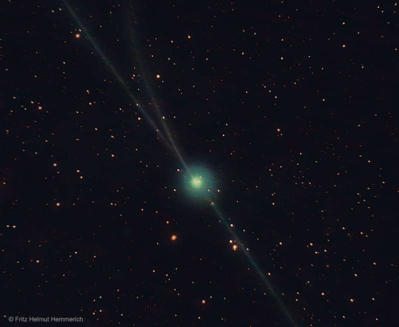Almost Three Tails for Comet Encke