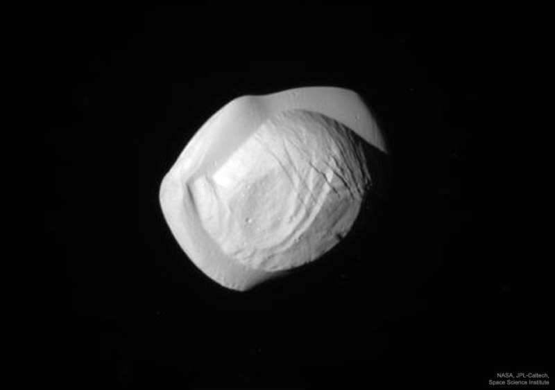 Saturns Moon Pan from Cassini