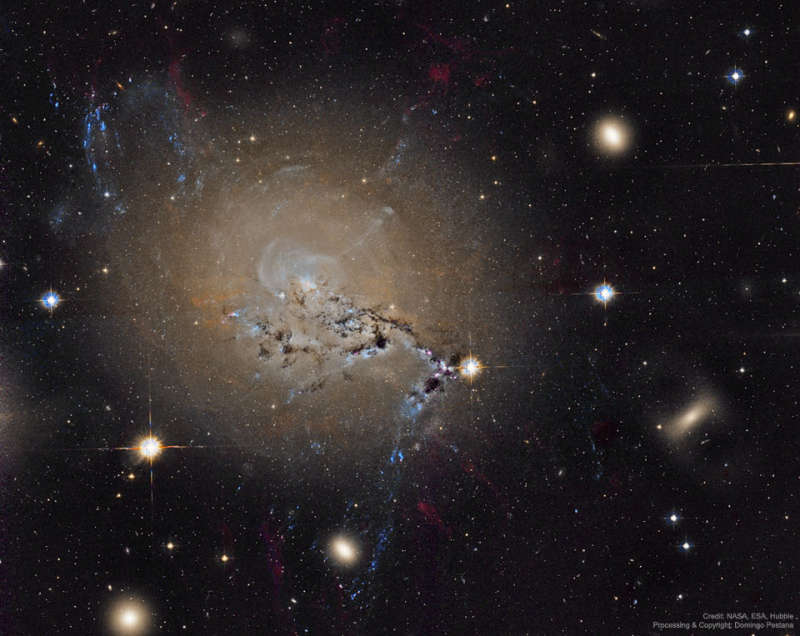 Filaments of Active Galaxy NGC 1275