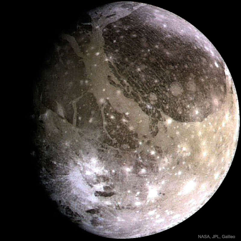 Ganymede: The Largest Moon