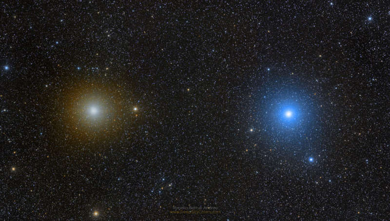 Gemini Stars Pollux and Castor