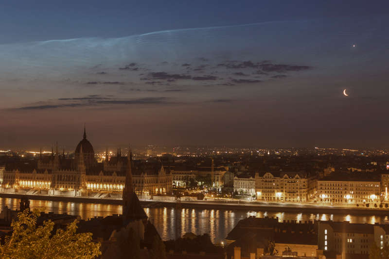 Solstice Conjunction over Budapest