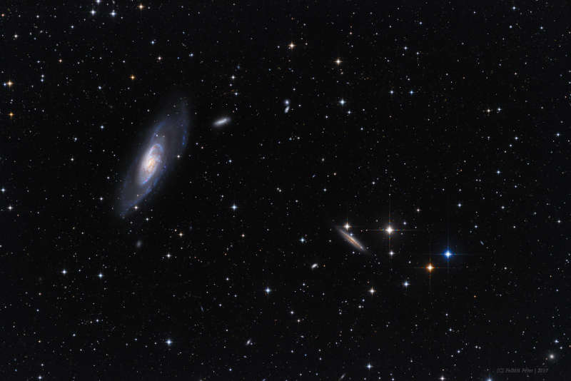 A View Toward M106