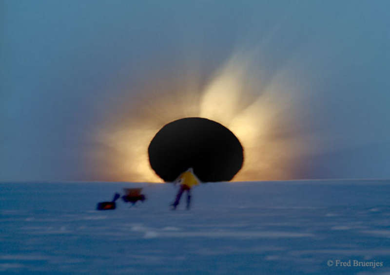 A Total Eclipse at the End of the World