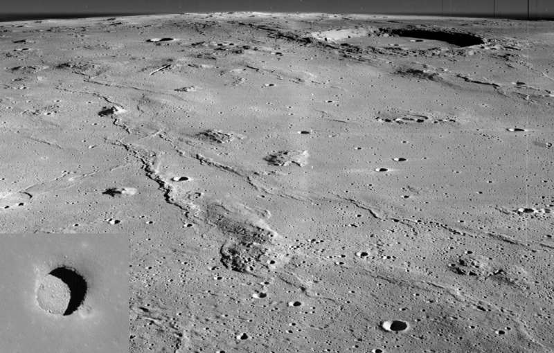 Marius Hills: Holes in the Moon