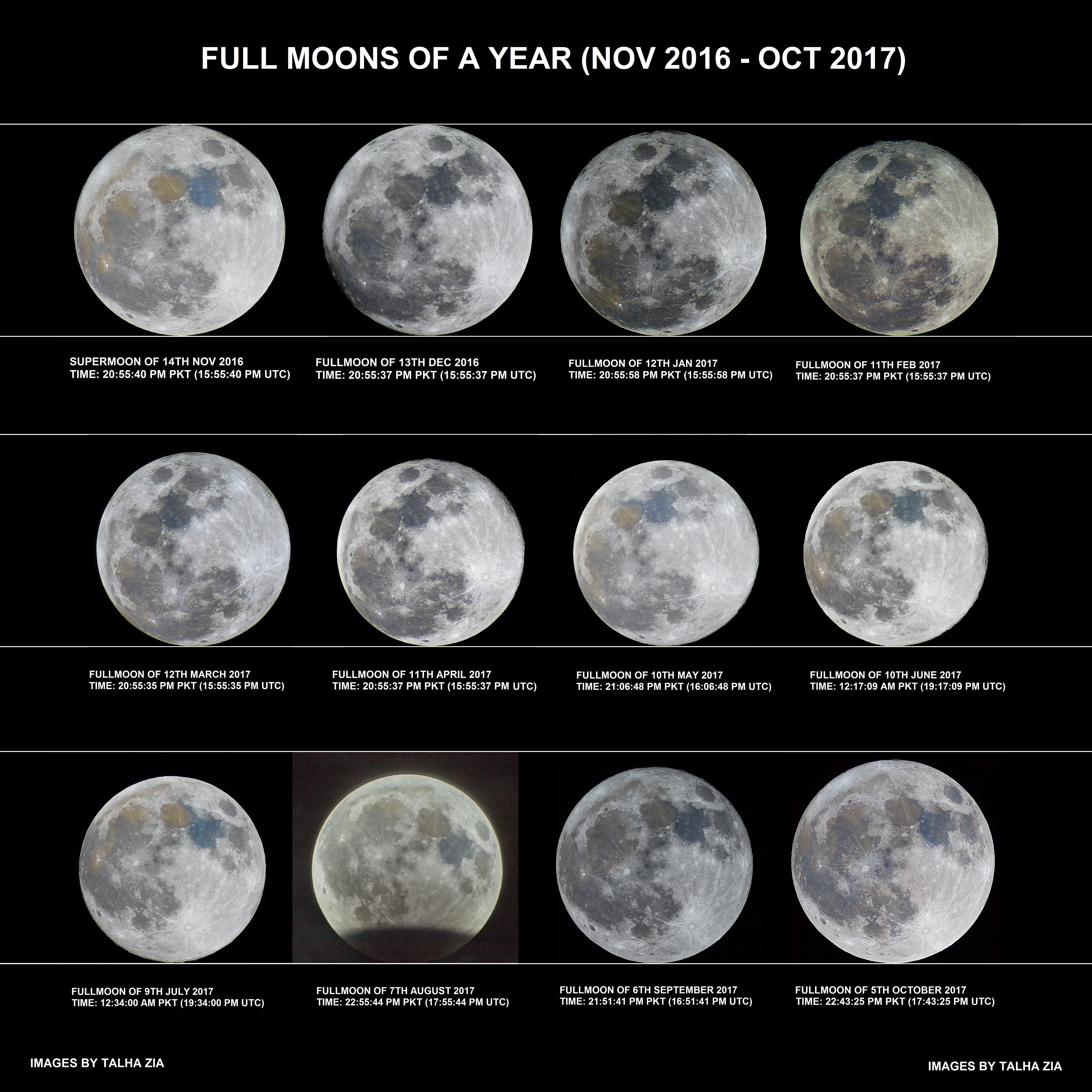 A Year of Full Moons