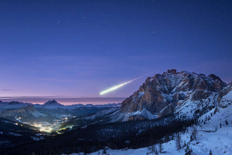 Major Fireball Meteor