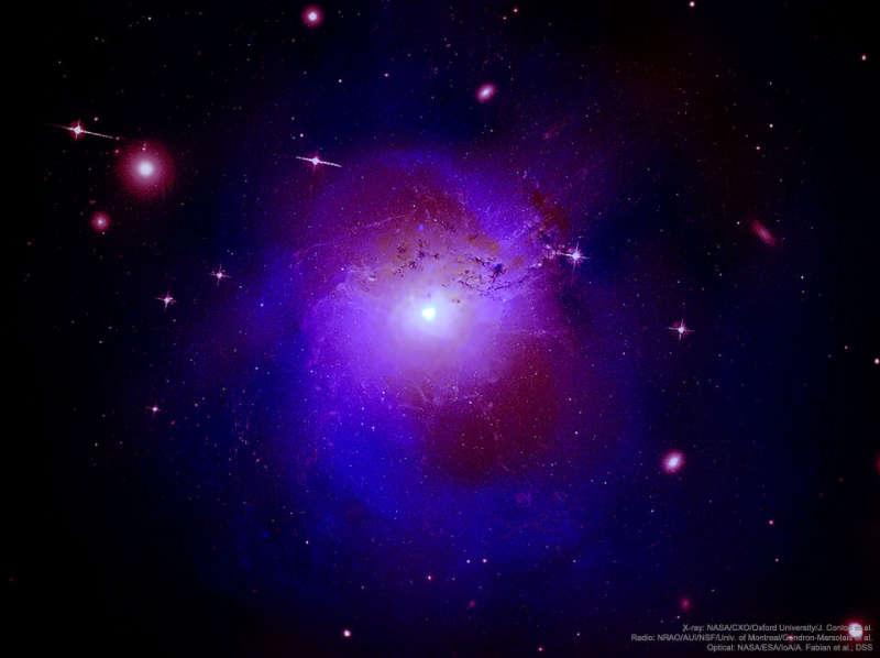 Unexpected X Rays from Perseus Galaxy Cluster