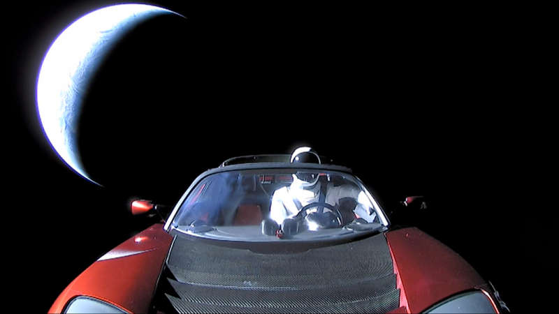 Roadster, Starman, Planet Earth