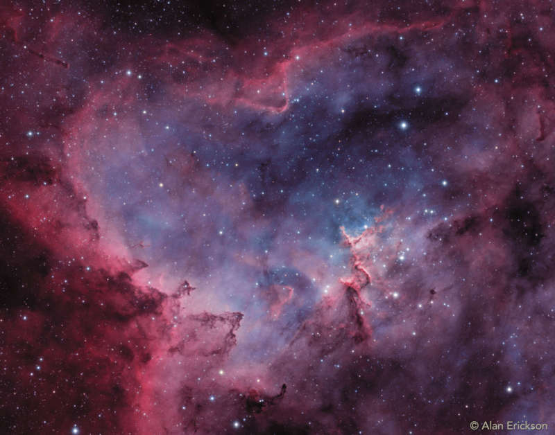 In the Heart of the Heart Nebula