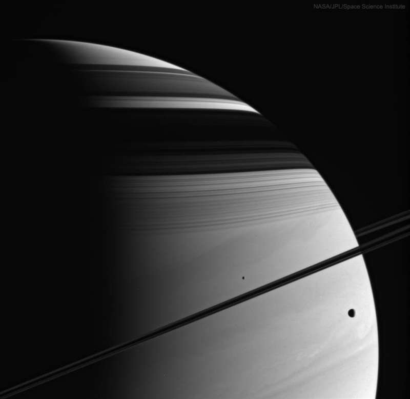 Moons, Rings, Shadows, Clouds: Saturn (Cassini)