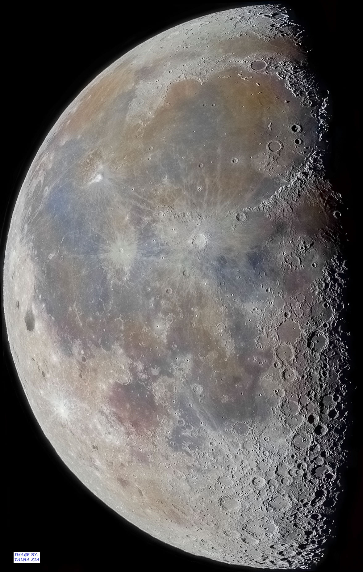 Craters and Shadows at the Lunar Terminator
