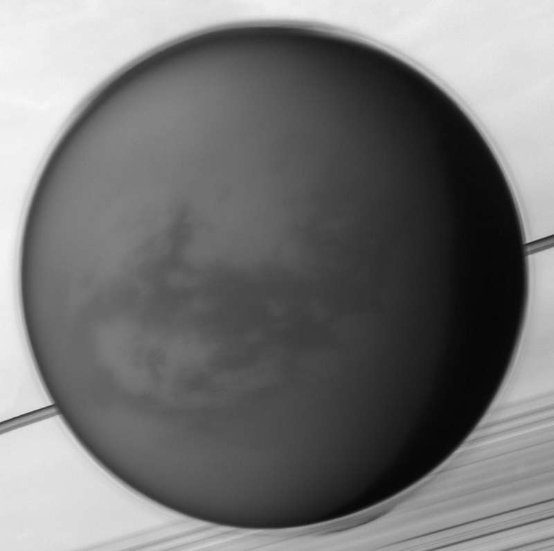 Titan: Moon over Saturn