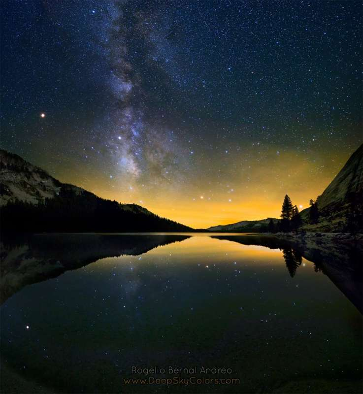 Six Planets from Yosemite