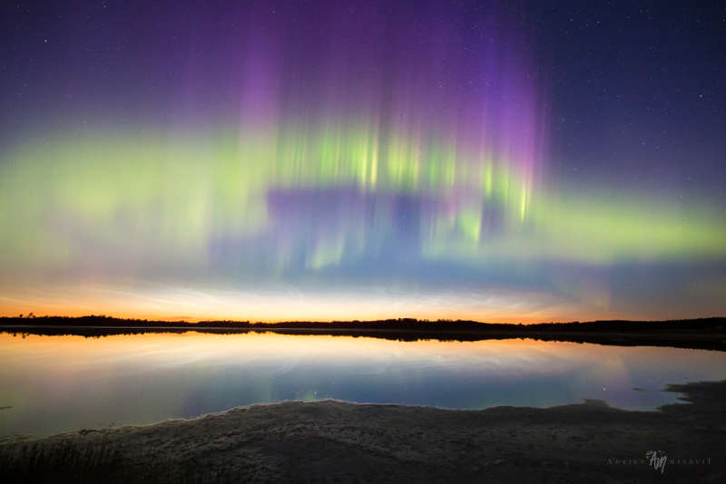 Northern Lights and Noctilucent Clouds