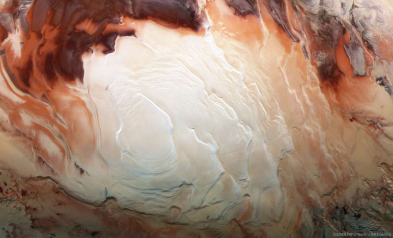 Layers of the South Pole of Mars