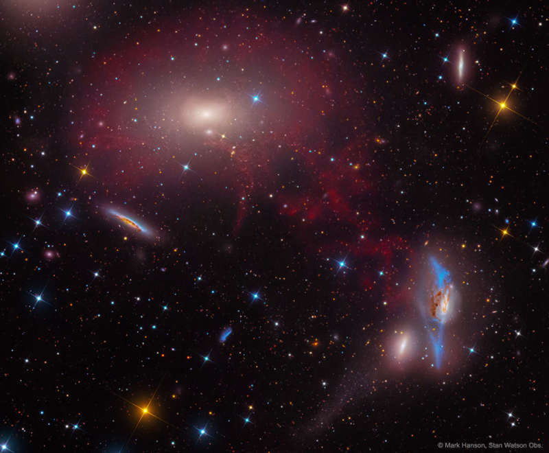 M86 in the Central Virgo Cluster