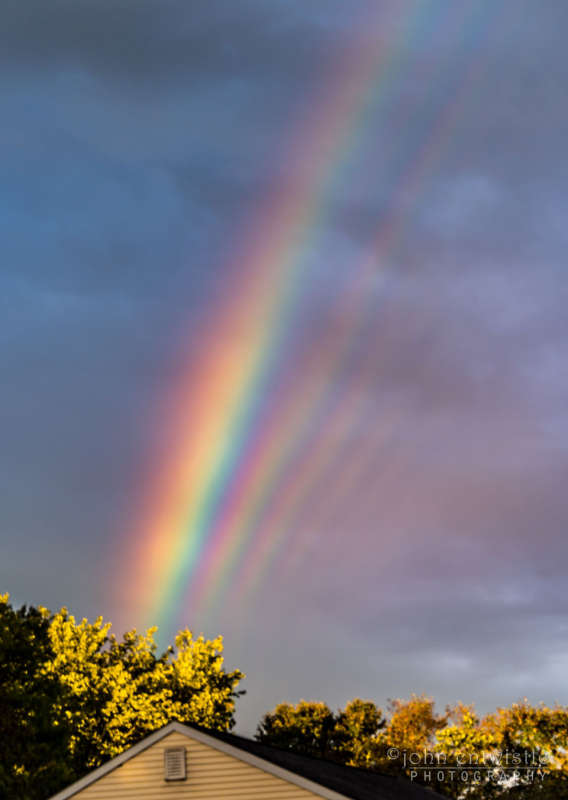 Supernumerary Rainbows over New Jersey