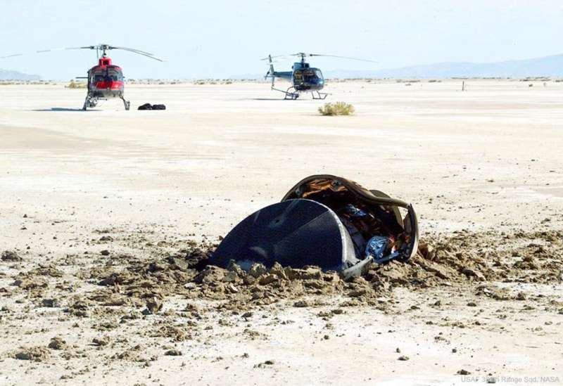 Flying Saucer Crash Lands in Utah Desert