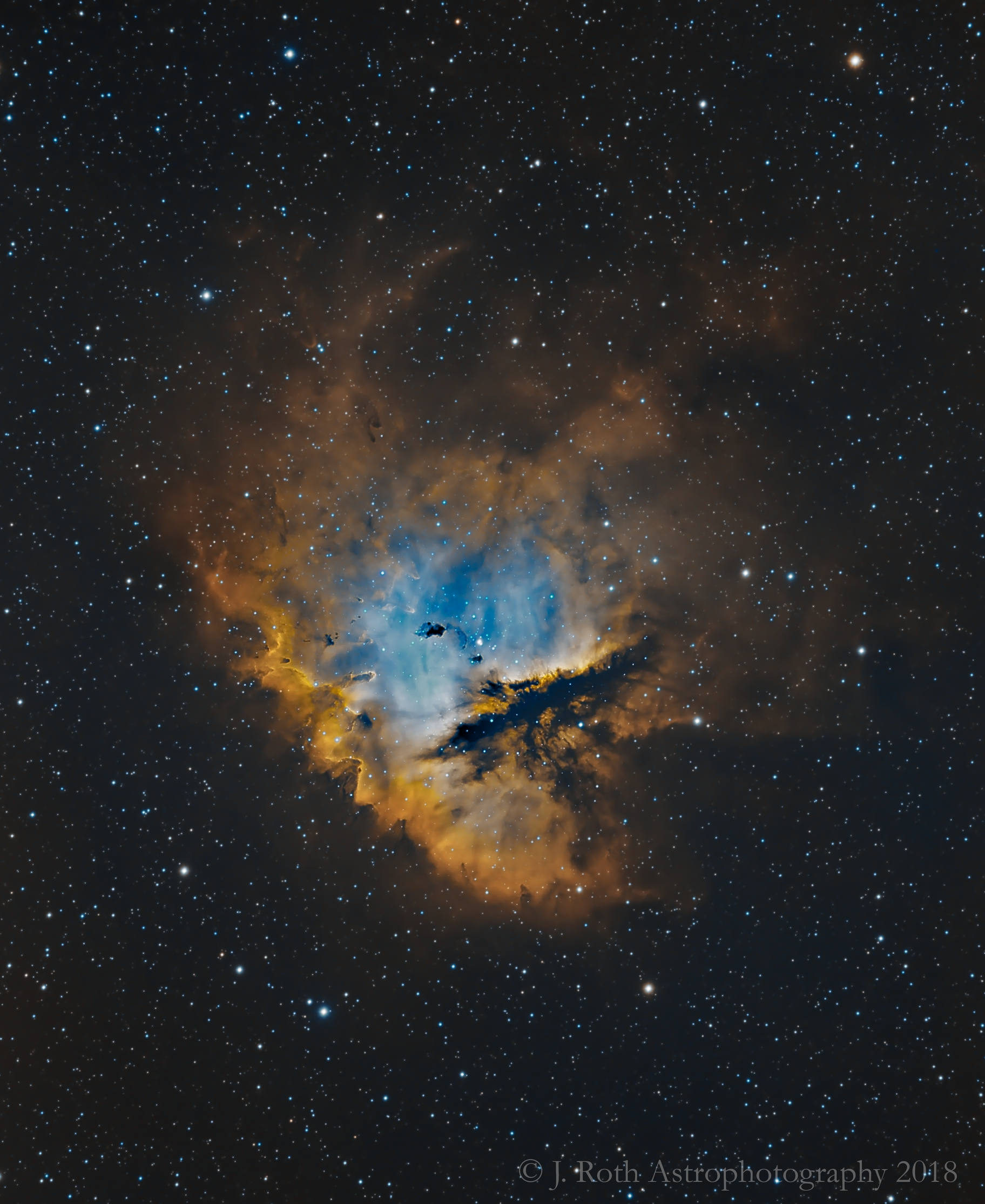 Portrait of NGC 281