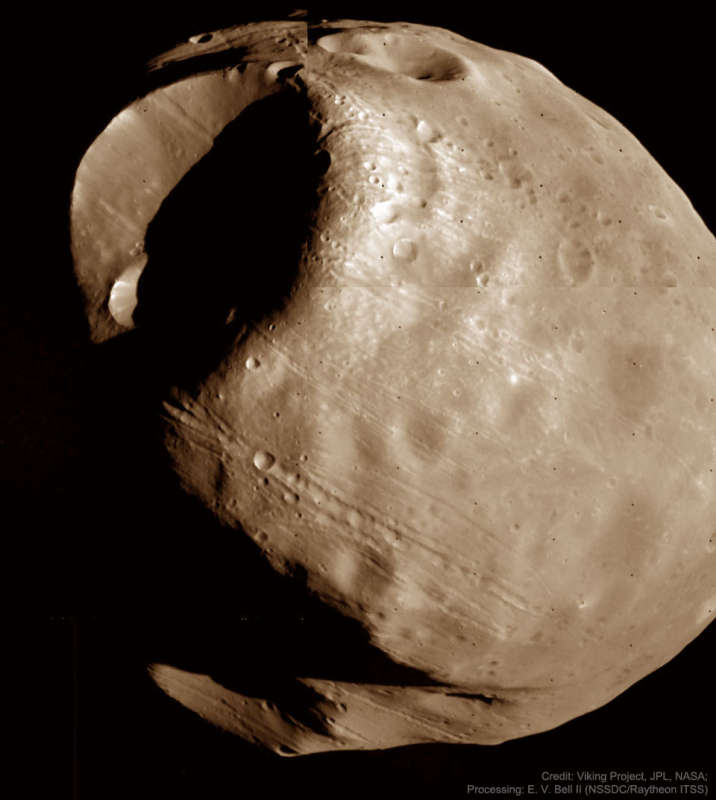 Phobos: Doomed Moon of Mars