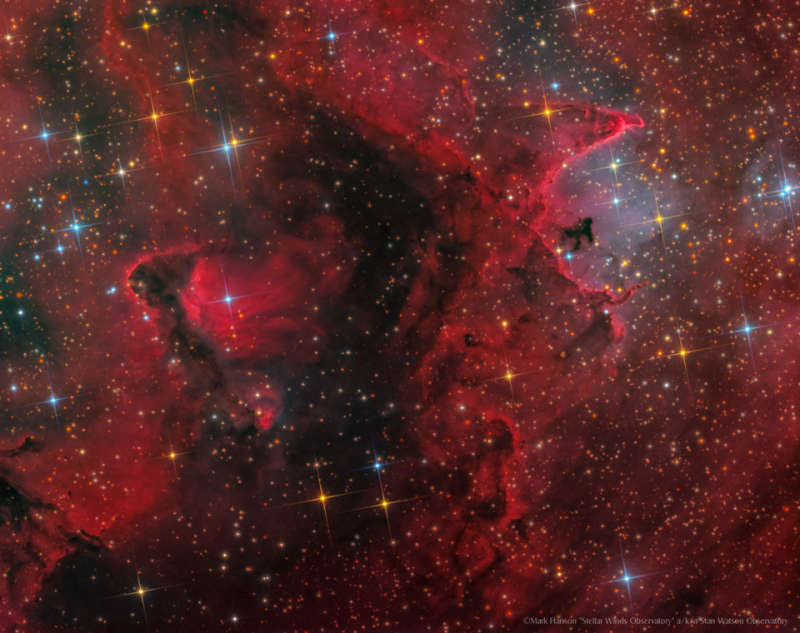 IC 1871: Inside the Soul Nebula