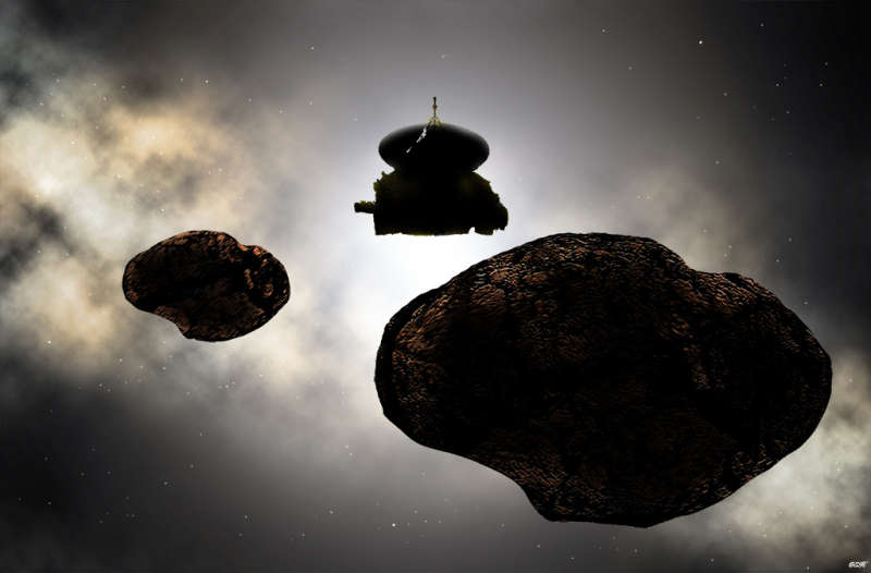 New Horizons at Ultima Thule